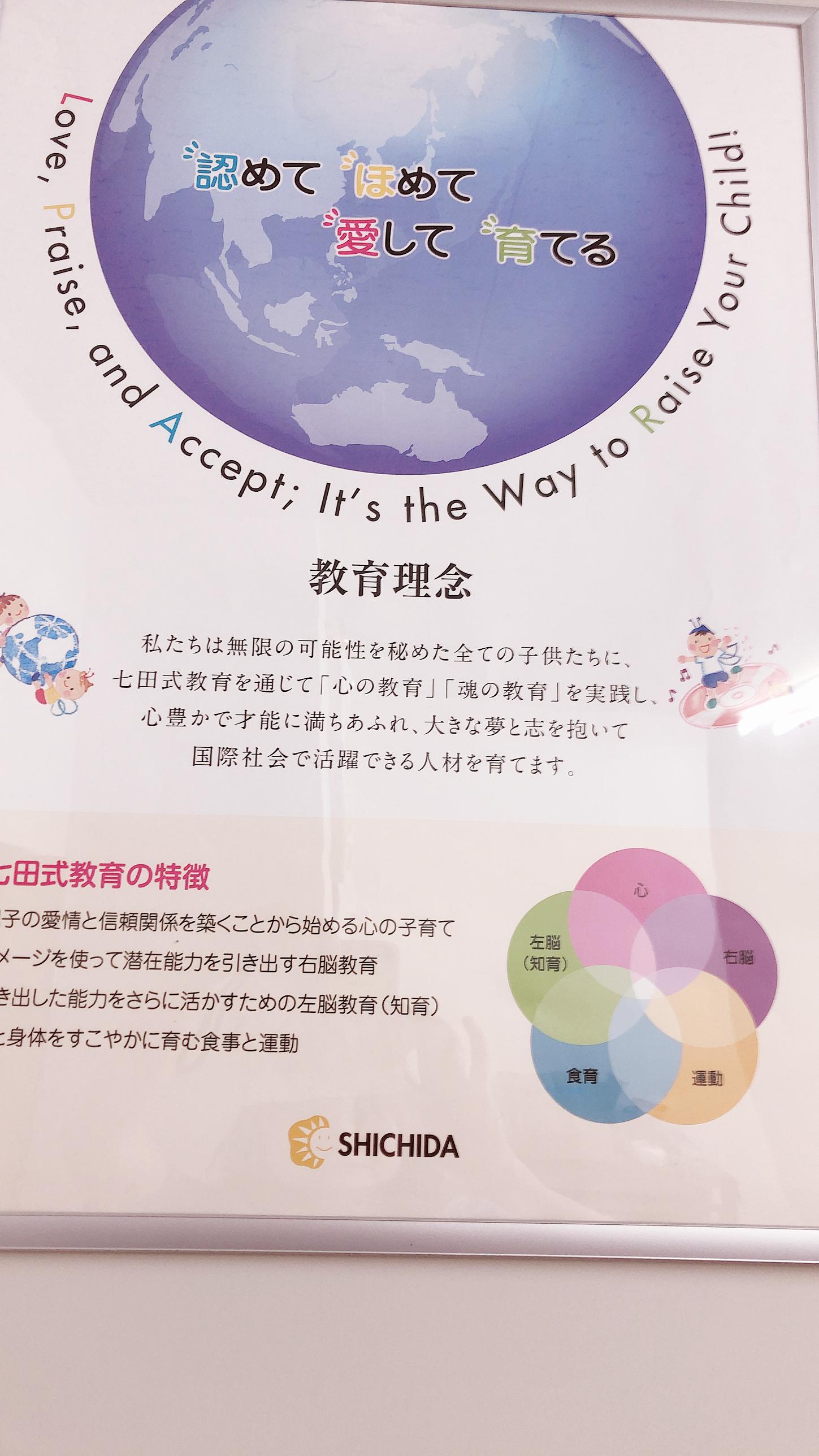 【七田式教育】子どもの見方6つのポイント その1「短所を・・・」