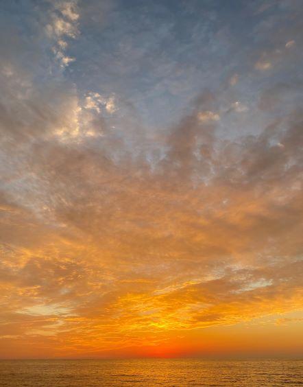 江津市の夕日を見たことがありますか?
