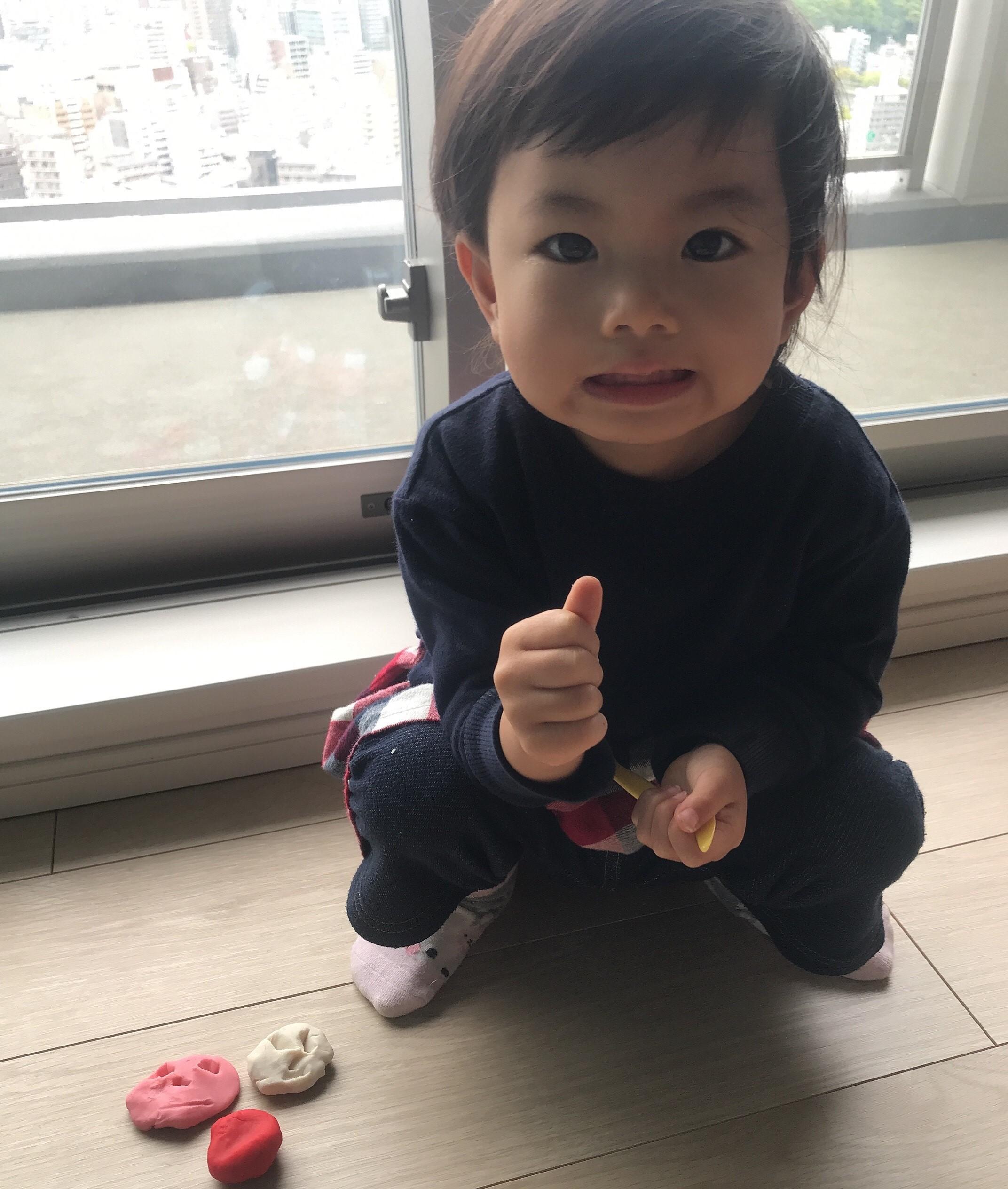 2歳児で理科ソングも記憶!「心も脳も健やかに成長しています」