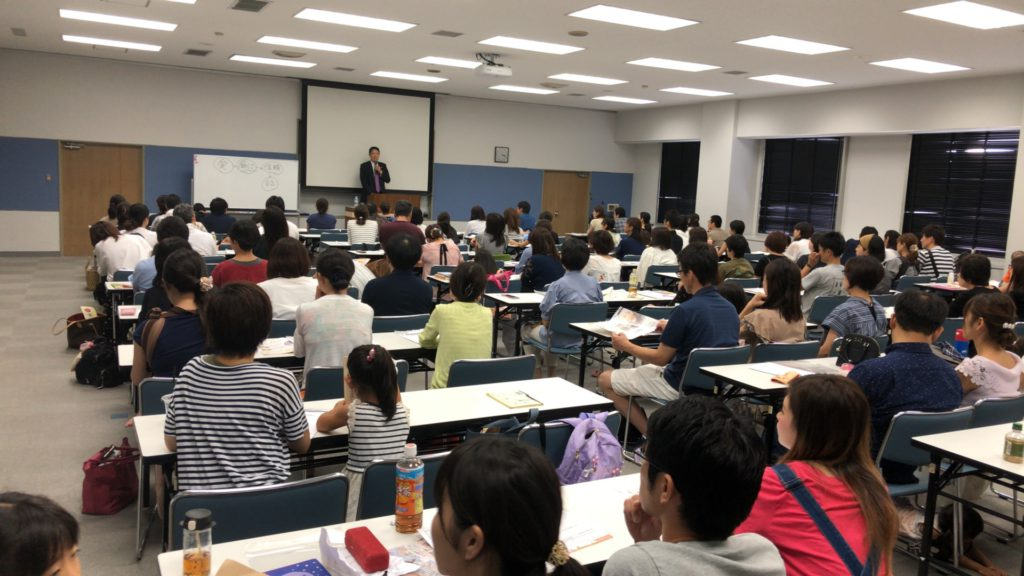 七田厚先生の講演会を開催いたしました!